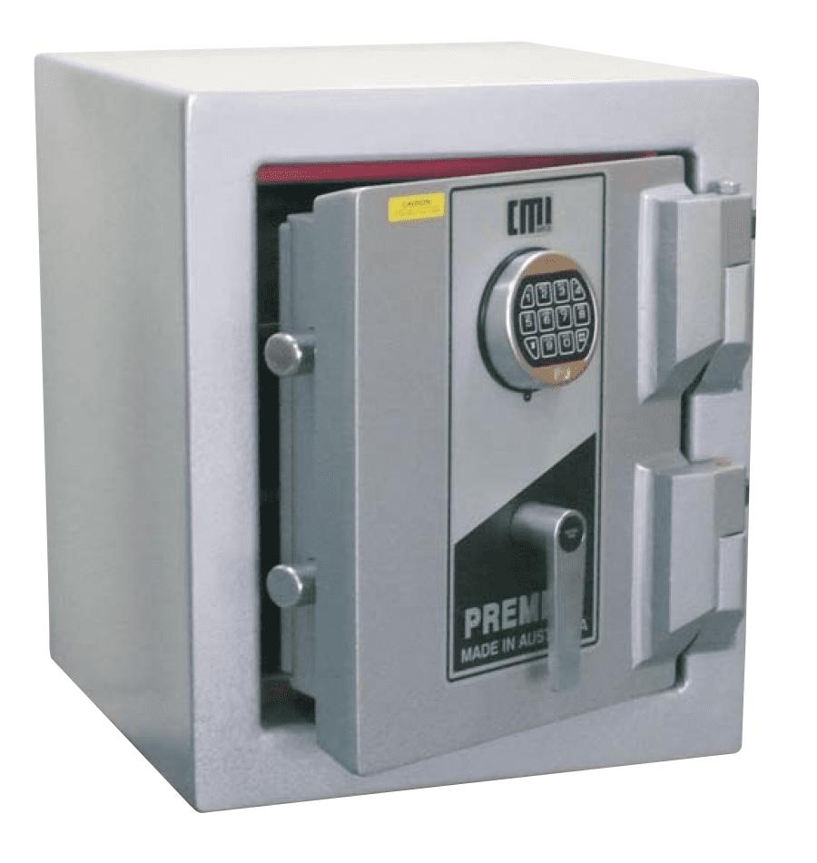 Cmi premier high security safe pra safeguard safes for Safe and secure products