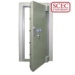SCEC Endorsed Strongroom Door & Frame