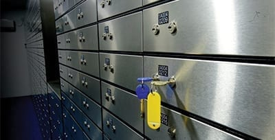 Safety Deposit Locker Vault
