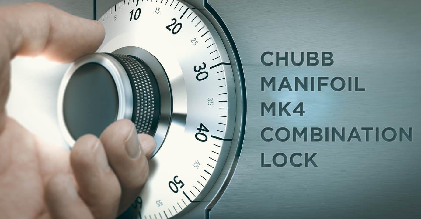 Chubb manifoil MK4 combination lock