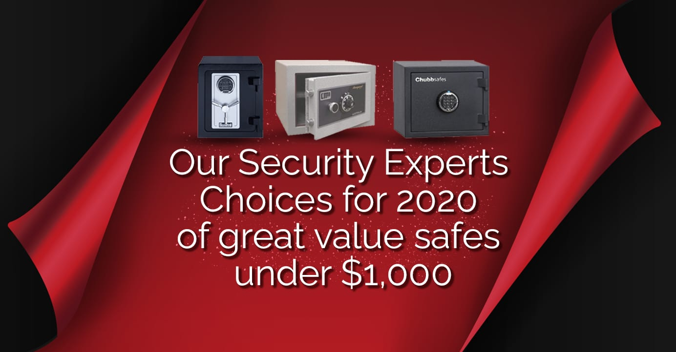 our security experts choices for 2020 of great value safes under $1000