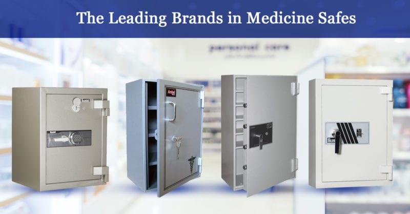the leading brands in medicine safes