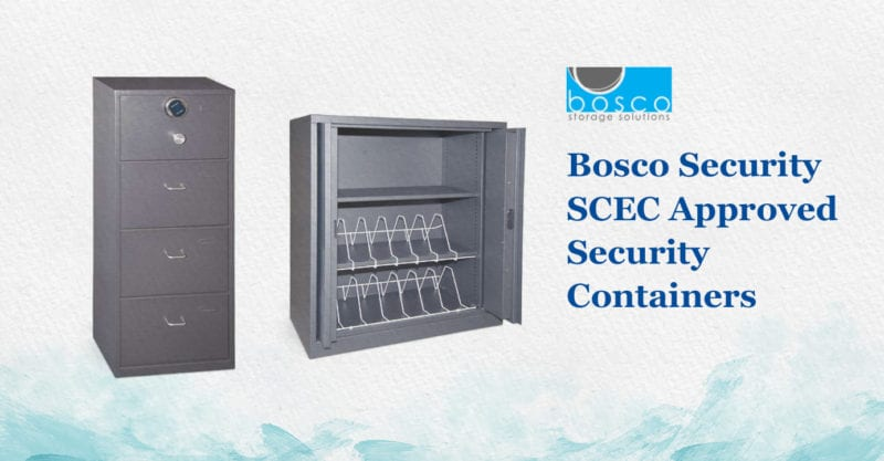 Bosco security SCEC approved security containers
