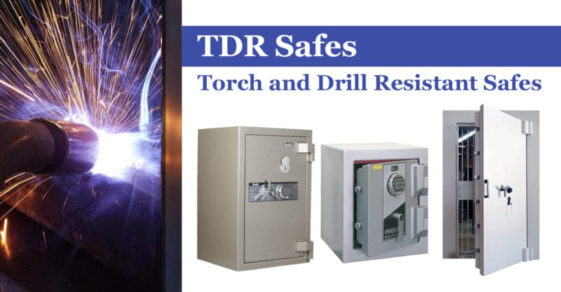 TDR safes torch and drill resistant safes