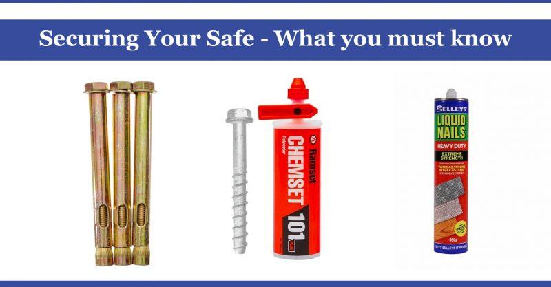 securing your safe