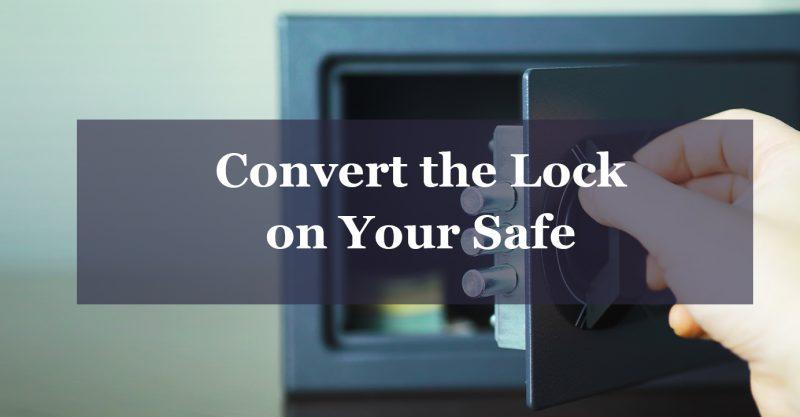 convert the lock